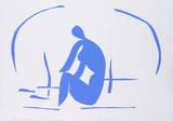 Baigneuse dans les Roseaux Serigraph by Henri Matisse
