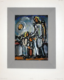 L'Ange Gardien Collectable Print by Georges Rouault