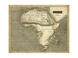 Thomson's Map of Africa Prints by  Thomson