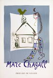 The House In My Village Collectable Print by Marc Chagall
