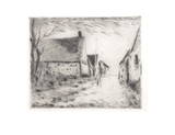 View of the Village Collectable Print by Maurice Vlaminck
