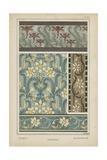 Nouveau Floral Design VI Giclee Print by  Vision Studio