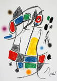 Maravillas 1053 Collectable Print by Joan Miró