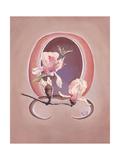 Deco Florals III Prints by Judy Mastrangelo