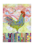 Rooster on a Fence I Posters by Ingrid Blixt