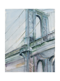 Watercolor Bridge Study I Posters by Ethan Harper