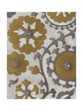 Ochre Suzani II Prints by Chariklia Zarris