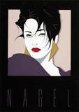 Commemorative No. 1 Serigraph by Patrick Nagel