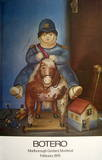 Child on Horse Collectable Print by Fernando Botero