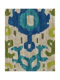 Teal Ikat I Giclee Print by Chariklia Zarris