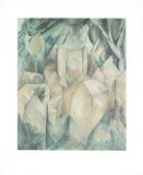 La Roche Guyon Collectable Print by Georges Braque