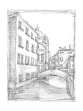 Sketches of Venice IV Poster by Ethan Harper