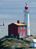 Fisgard Lighthouse Photographic Print by Rachel Perry
