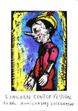 Pinocchio Serigraph by Jim Dine