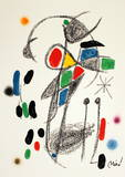 Maravillas 1070 Collectable Print by Joan Miró