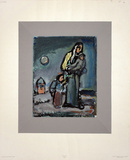 Mother and Child Collectable Print by Georges Rouault