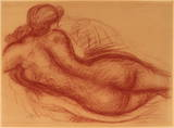 Nude Collectable Print by Aristide Maillol
