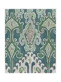 Emerald Ikat II Giclee Print by Chariklia Zarris