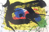 Derriere le Miroir no. 203, pg 4,5 Collectable Print by Joan Miró