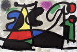 Derriere le Miroir, no. 186, pg 4,5 Collectable Print by Joan Miró