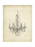 Classical Chandelier II Prints by Ethan Harper