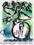 Oiseau Vert Collectable Print by Marc Chagall