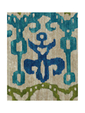Teal Ikat III Giclee Print by Chariklia Zarris