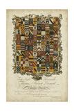 Edmondson Heraldry IV Print by  Edmondson