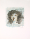 Blue Portrait (Visage Bleu) Limited Edition by Leonor Fini