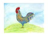 Meadow Rooster Prints by Ingrid Blixt