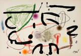 Maravillas 1067 Collectable Print by Joan Miró