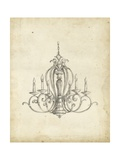 Classical Chandelier I Prints by Ethan Harper