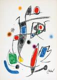 Maravillas 1062 Collectable Print by Joan Miró