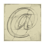 Drafting Symbols I Premium Giclee Print by Ethan Harper