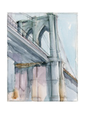 Watercolor Bridge Study II Prints by Ethan Harper