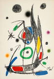 Maravillas 1066 Collectable Print by Joan Miró
