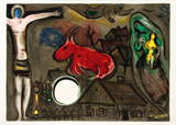 DLM Double Page Collectable Print by Marc Chagall