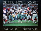 Super Bowl XXVII Collectable Print by Peter Nickelback