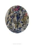 La Bouteille De Rhum Collectable Print by Georges Braque