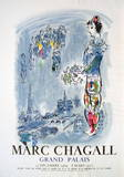 The Magician Of Paris Collectable Print by Marc Chagall