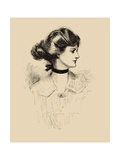 A Daughter of the South Art by Charles Dana Gibson