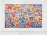 Map Collectable Print by Jasper Johns
