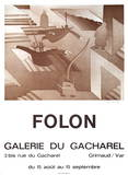 Galerie Du Cacharel Collectable Print by Jean Michel Folon