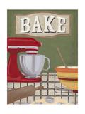 Baker's Kitchen Art by Erica J. Vess