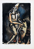 Le Clown Collectable Print by Georges Rouault