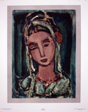 Sainte-Marthe Collectable Print by Georges Rouault