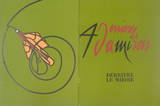 Derriere le Miroir, no. 206 cover Collectable Print by Valerio Adami