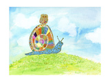 Meadow Snail Posters by Ingrid Blixt