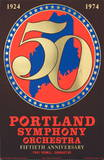 Portland Symphony Orchestra 50th Anniversary Collectable Print by Robert Indiana