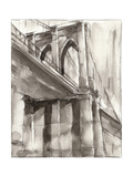 Sepia Bridge Study II Prints by Ethan Harper